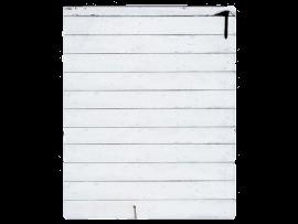 Flat Lay Baggrund m. Hvide Planker