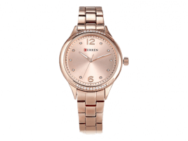 Curren Ladies 9003 Rose Gold