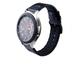 Warna rem til Samsung Gear S3 / Galaxy Watch 46mm-Mørkeblå