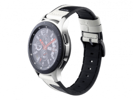 Warna rem til Samsung Gear S3 / Galaxy Watch 46mm-Hvid