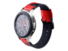 Warna rem til Samsung Gear S3 / Galaxy Watch 46mm-Rød