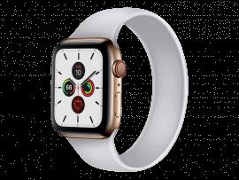 Silikone Rem til Apple Watch 2 38 mm i Solo Loop design - str. S