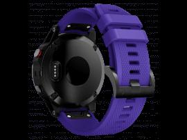 Adley Silikone Rem til Garmin Fenix 5 / 5 Plus / 6 / 6 Pro / Chronos