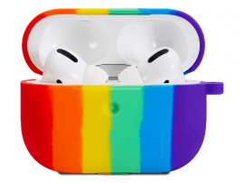 Rainbow Silicone Cover til AirPods Pro