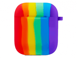Regnbue Silicone Cover til AirPods Series 1/2