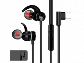 In-Ear Headset m. Magnet og USB-C