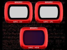 3-Pak UV + CPL + ND8 Filtre til DJI Mavic Air 2