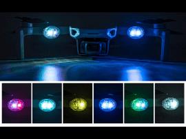 2 LED-Lys til Droner - 7 Farver