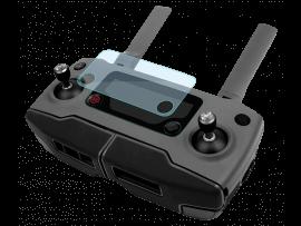 2-Pak Beskyttelsesglas til DJI Mavic 2 Pro / 2 Zoom Controller