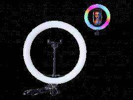 26 CM Selfie Ring Lys m/ RGB