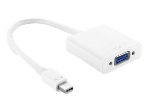 Mini Displayport (Thunderbolt) til VGA Adapter