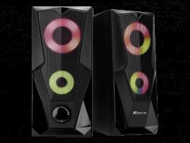 RGB højtalere m. 7 farver