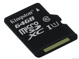 Kingston Canvas Select 64GB MicroSD inkl adapter