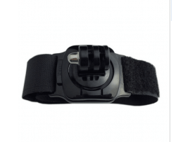 Wrist strap mount med 360 grader rotation