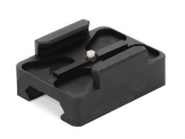 Aluminium mini rail mount til våben