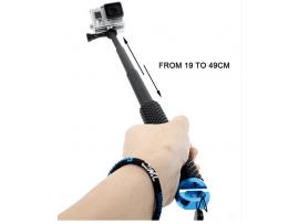 Håndholdt pole med teleskopstang til GoPro