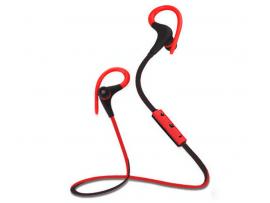 Bluetooth 4.1 løbe headset - trådløst - Rød