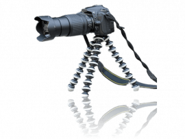 Tripod Gorillapod stativ til SLR & Digitalkamera