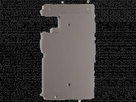 Metal bagplade til iPhone 7