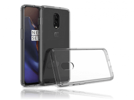 Transparent TPU Cover til OnePlus 6T