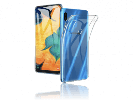 Transparent TPU Cover til Samsung Galaxy A40