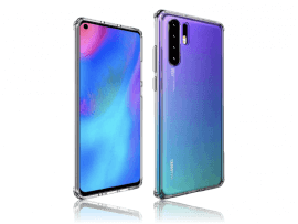 Transparent TPU Cover til Huawei P30 Pro