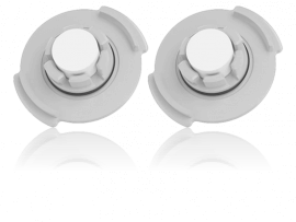 2x Vandfilter til Xiaomi Roborock S5 / S50 / S5 Max
