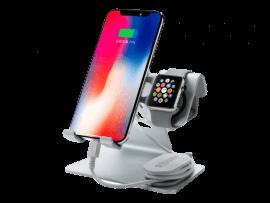 Aluminiums Holder til Apple Watch & Smartphone / Tablet