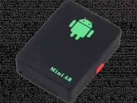 Seguro A8 Mini GMS Tracker m/ Mikrofon