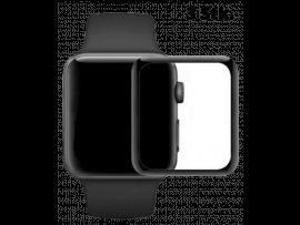 3 Stk. 3D Curved beskyttelsesglas til Apple Watch 1/2/3-38 mm