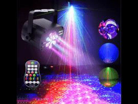 Diskolys m. Multifarvet Laser effekt