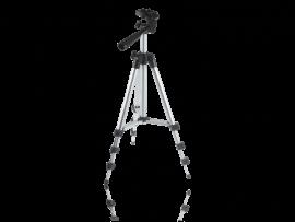 "Aluminium Tripod Stativ m/ 1/4"" Skrue (30-83cm)"