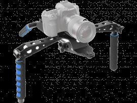 Foldbart skulderstativ til kamera