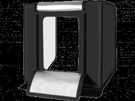 Fotoboks / Mini Fotostudie m. LED og indbygget lysreflektor-Large