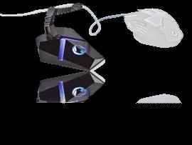Mouse Bungee m. LED & 3x USB porte