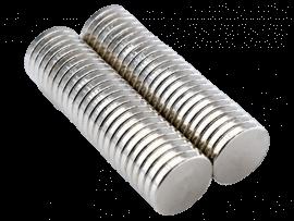 50stk Runde Supermagneter