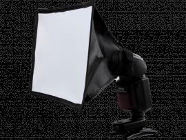 Flash Diffuser med Sølv Reflektor