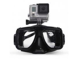 Dykkermaske til GoPro 4 / 3 / 2 - Sort