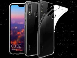 Transparent TPU cover til Huawei P20 Lite