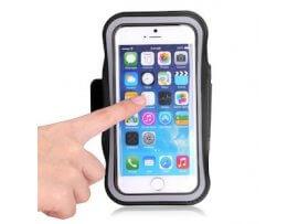 iPhone 6 Plus / 6S Plus løbearmbånd - Sort