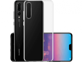 Transparent TPU Cover til Huawei P20 Pro