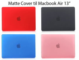 "Matte Cover til Macbook Air 13"" (A1369 / A1466)"