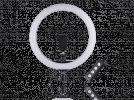 30 CM Selfie Ring Lys m/ Smartphone Holder