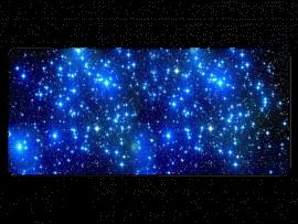 Starry Musemåtte – 90 x 40 cm