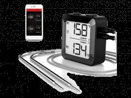 Digitalt Stegetermometer m. 2 Følere
