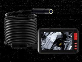 Vandtæt Inspektionskamera m. LCD Skærm & Holder - 10 M
