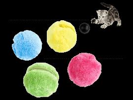 Interaktiv bold m. 4 Betræk