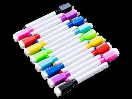 8-Pak Magnetiske Whiteboard Tusser