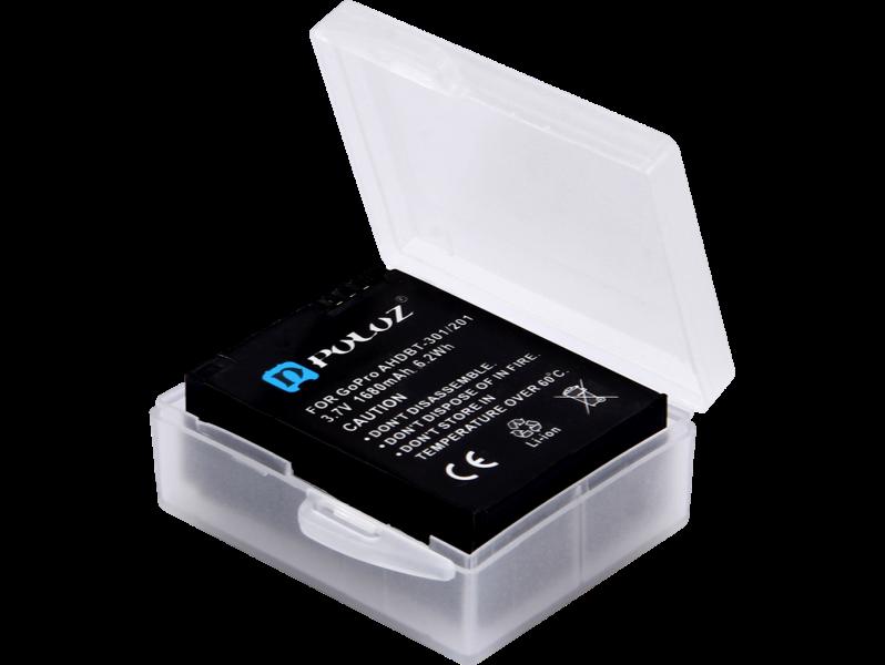 Image of   Etui til GoPro Hero 8 / 7/ 6/ 5 / 3 / 3+ Batteri
