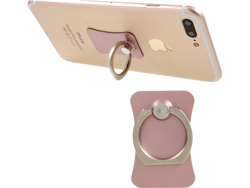 Image of   Ring-holder til iPhone og andre Smartphones-Rosa